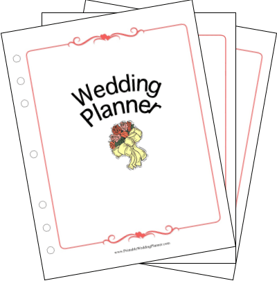 Wedding Planning Journals on Online Printable Wedding Planner Thiago Freitas   Webdesgin