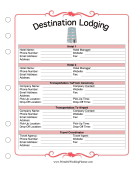 Destination Lodging